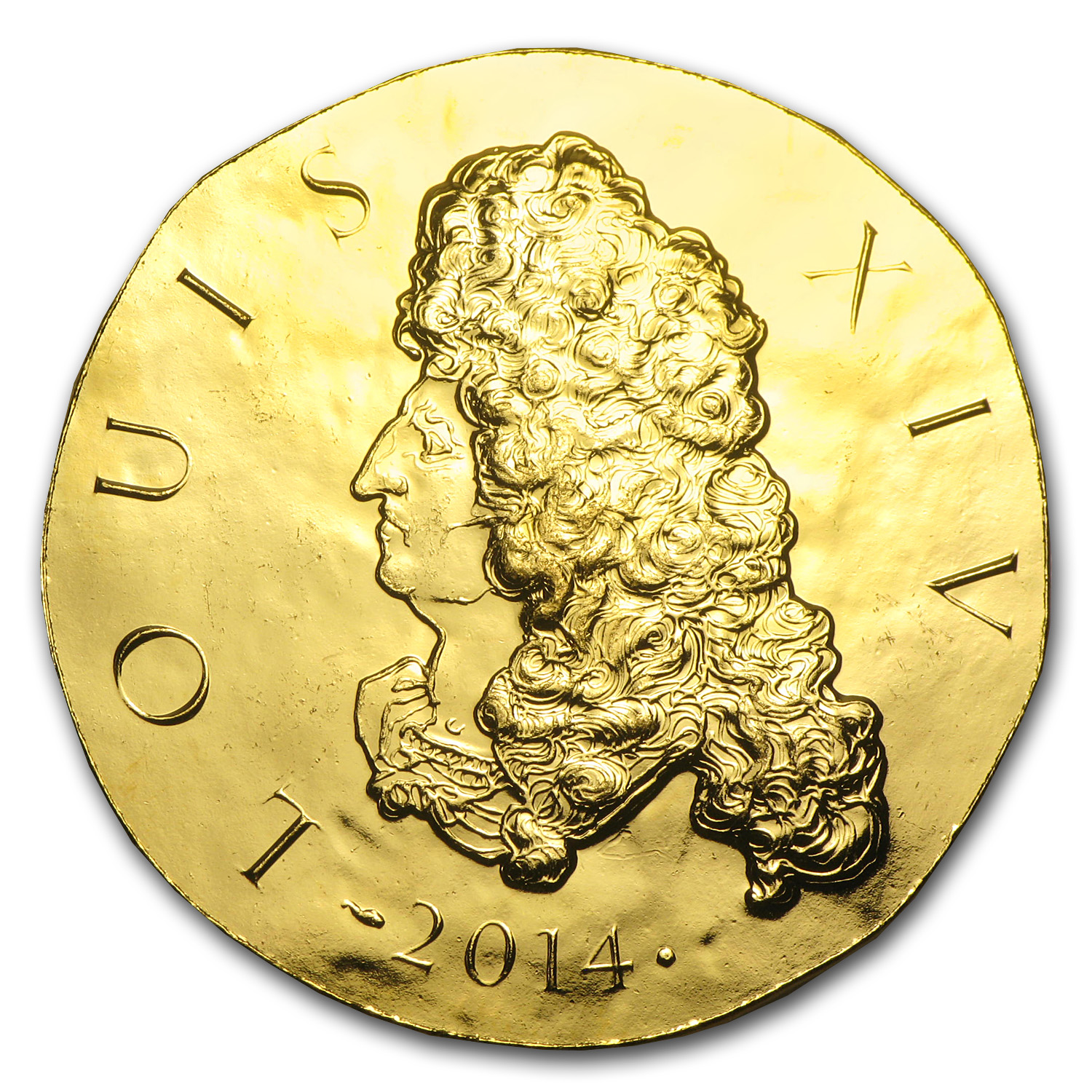 2014 1 oz Gold Proof Legendary Collection - Louis XIV